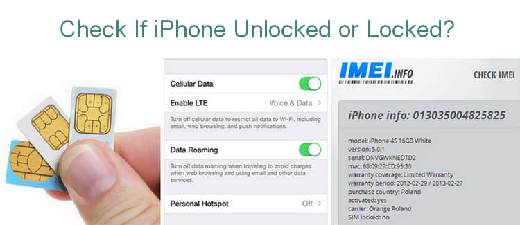 3 Ways to Check if My iPhone is Unlocked to Mobile Carrier