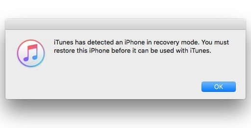 recovery mode iphone 5s without itunes