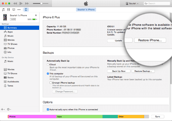 How to Downgrade iOS without iTunes (Install IPSW Files)