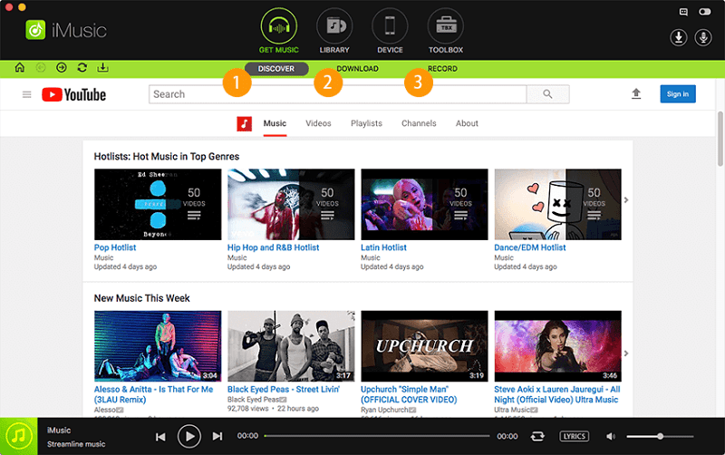 Download Imusic To Get Music