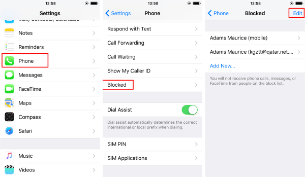 Top 2 Ways to Retrieve Blocked Messages from iPhone?