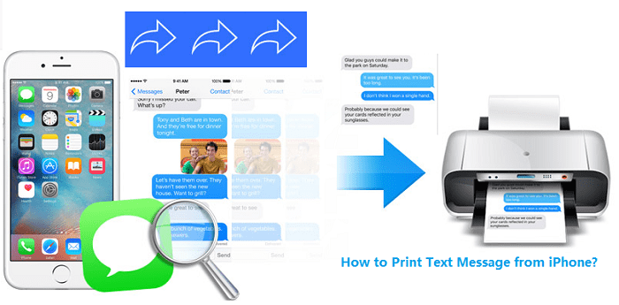 6 Ways to Print Text Messages from iPhone & Android for Court