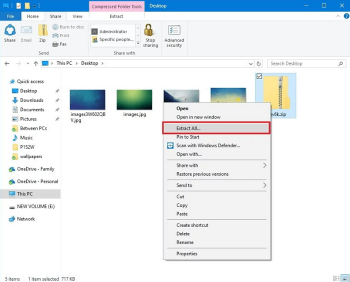 how to open password protected zip file without winzip