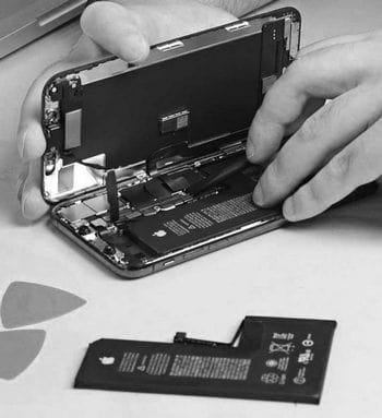 réinitialiser ou remplacer la batterie de l'iphone