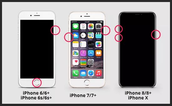forcer le redémarrage de l'iphone bloqué logo apple